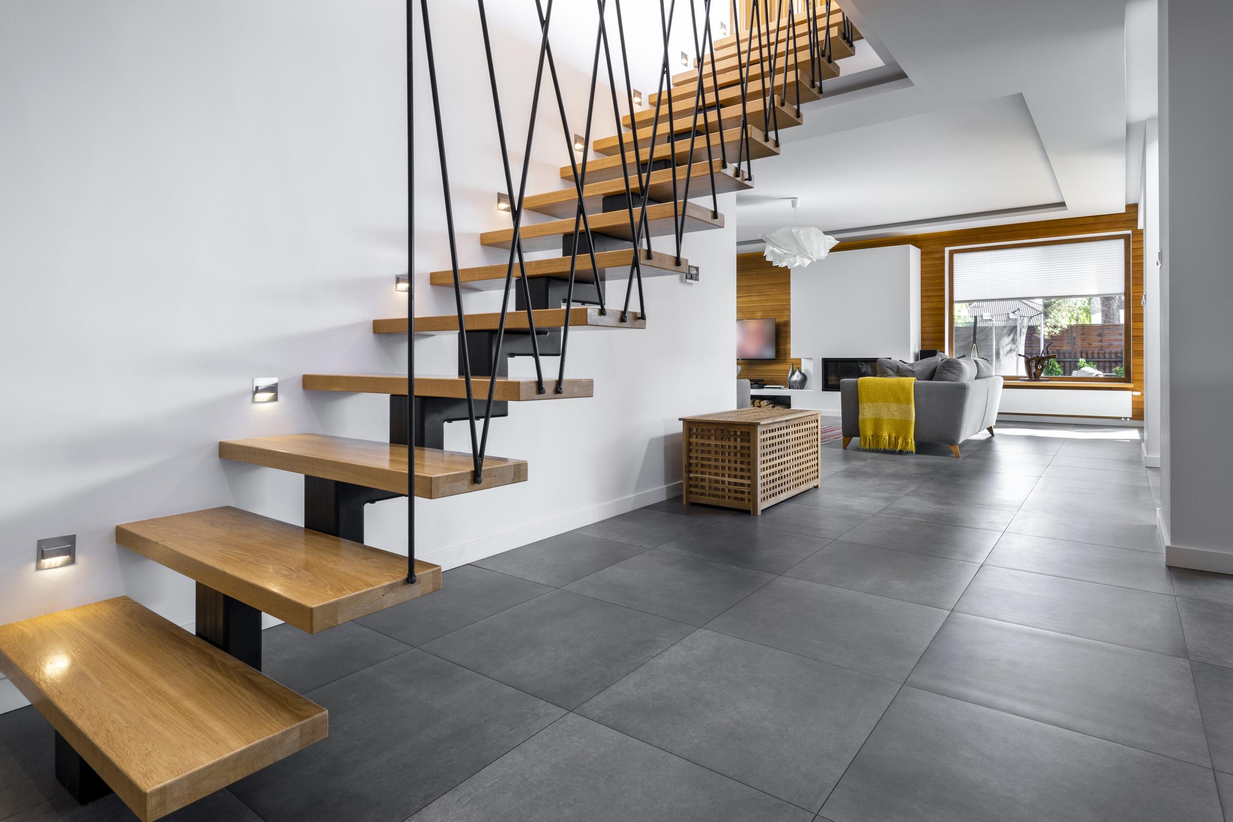 проект дома с фальцевой крышей